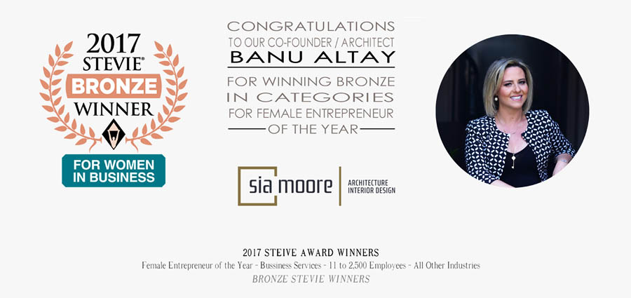 BANU ALTAY - STEVIE AWARDS FOR WOMEN IN BUSINESS 2017