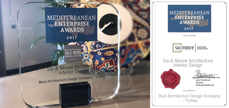 Sia Moore - MEDITERRANEAN ENTERPRISE AWARDS 2017