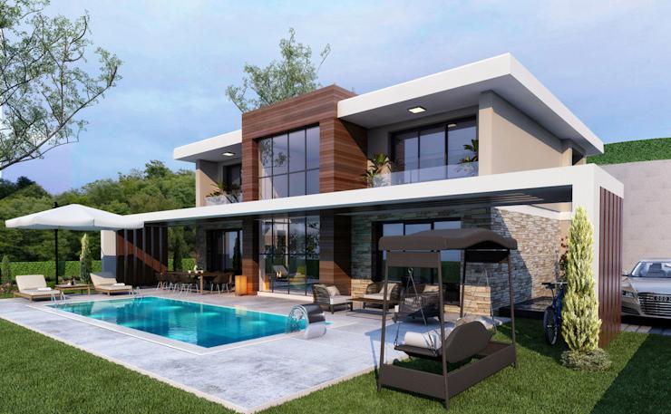Modern Facade -1 / Hayat Villas