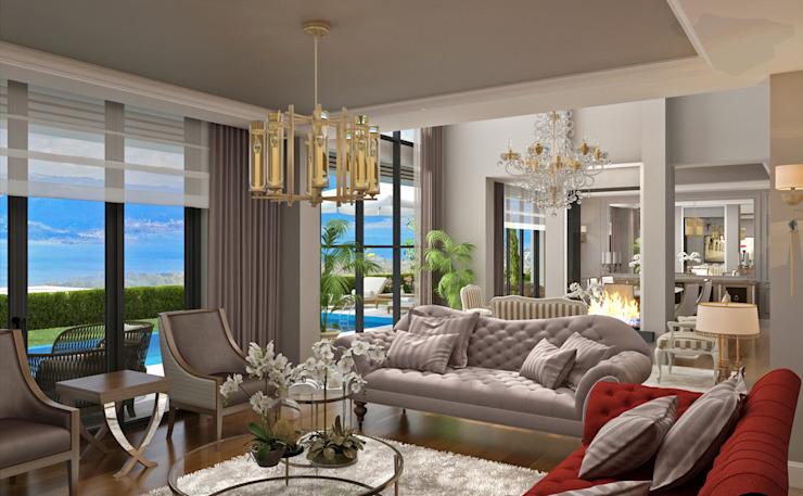 Living Room -1 / Hayat Villas
