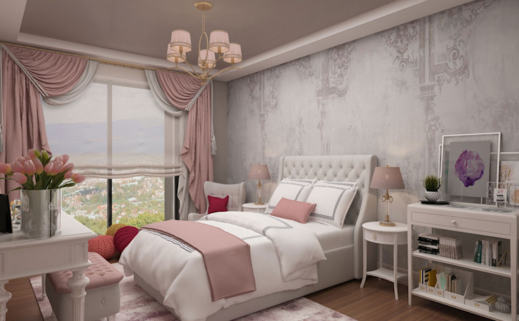 Girl Bedroom—2 / Hayat Villas