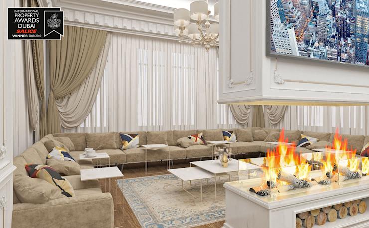 Guest House Living Room / Sitak Villa
