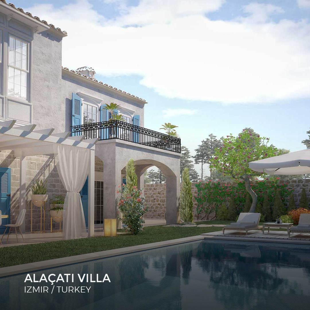 Sia Moore - Alaçatı Villa