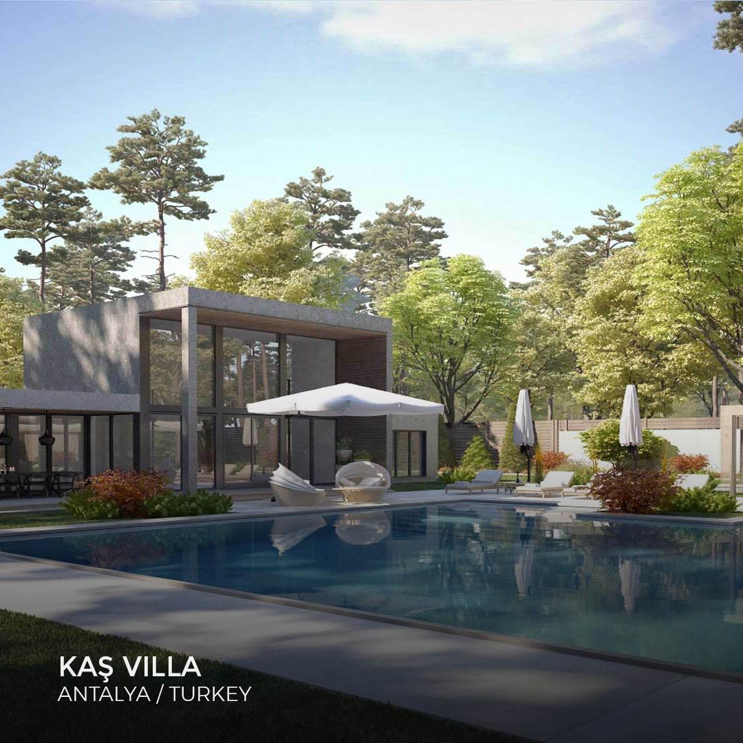 Sia Moore - Kaş Villa
