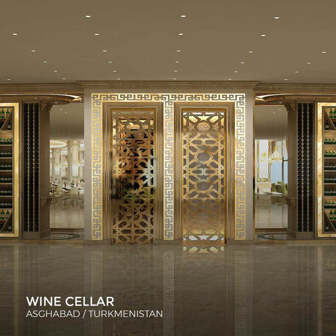 Sia Moore - Wine Cellar