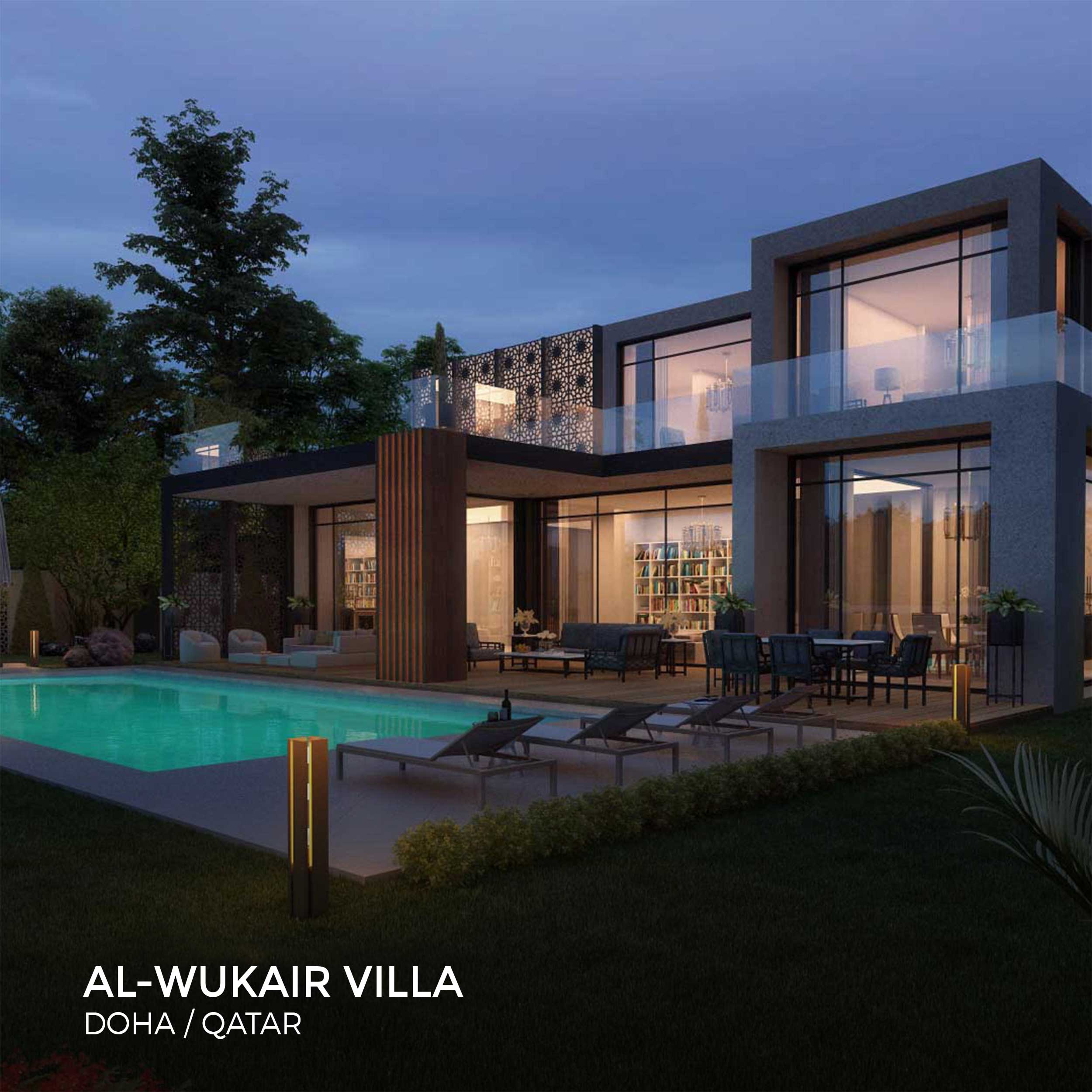 Sia Moore - Al Wukair Villa