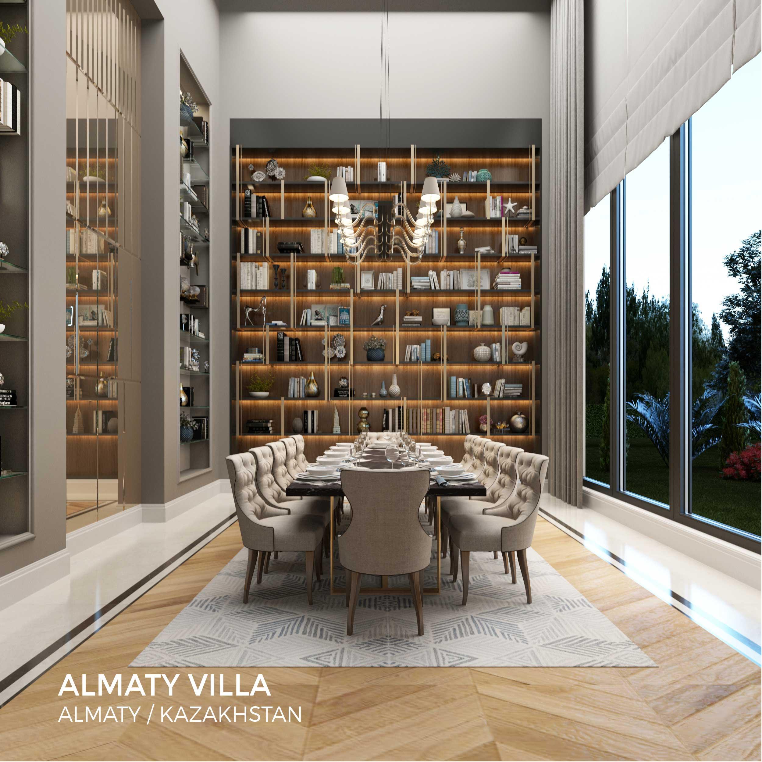 Sia Moore - Almaty Villa